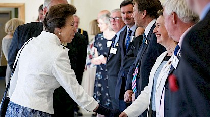 Princess Royal Pays Tribute To Three Counties Agricultural Society