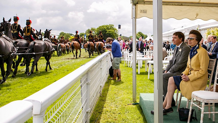 Roaring Royal Success For Three Counties Show