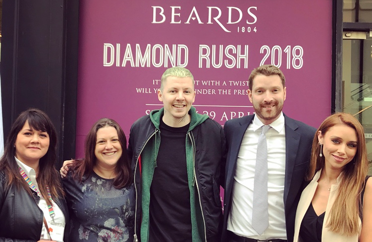 Beards Diamond Rush a Sparkling Success