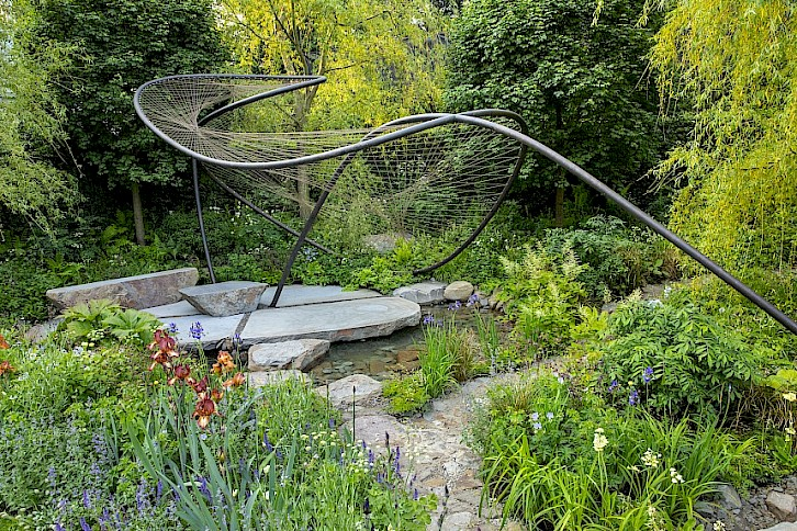 Wedgwood Winner Jo Thompson Strikes Gold at RHS Chelsea Flower Show